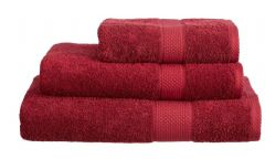 Burgundy 100% Cotton Turkish Ringspun Towel 500 Gsm